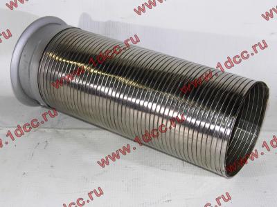 Гофра-труба выхлопная 6х4 с юбкой H2/H3 HOWO (ХОВО) WG9725540053 фото 1 Стерлитамак