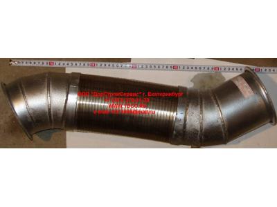 Гофра-труба выхлопная 8х4 d=120 H2/H3 HOWO (ХОВО) WG9731540002 фото 1 Стерлитамак