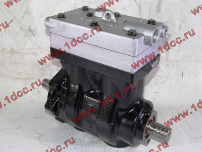 Компрессор пневмотормозов 2-х цилиндровый WABCO H3 HOWO (ХОВО) VG1099130010 фото 1 Стерлитамак