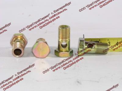 Болт пустотелый М14х1,5 (штуцер топливный) H HOWO (ХОВО) 90003962612 фото 1 Стерлитамак