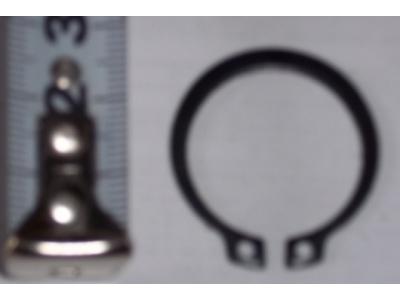 Кольцо стопорное замковое шестерни полуоси H HOWO (ХОВО) 190003933351 фото 1 Стерлитамак