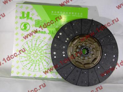Диск сцепления ведомый 420 мм H2/H3 HOWO (ХОВО) WG1560161130 фото 1 Стерлитамак