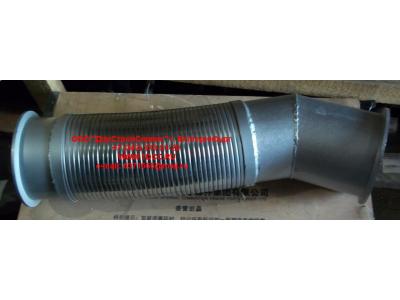 Гофра-труба выхлопная 8х4  H2/H3 HOWO (ХОВО) WG9731540012 фото 1 Стерлитамак