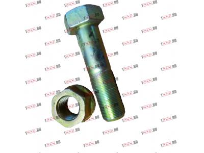 Болт крепления прямой реактивной тяги короткий H2/H3 HOWO (ХОВО) 190003803974 фото 1 Стерлитамак