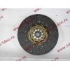 Диск сцепления ведомый 420 мм H2/H3 HOWO (ХОВО) WG1560161130 фото 2 Стерлитамак