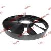 Вентилятор радиатора на гидромуфту d-590 H HOWO (ХОВО) VG1500060047 фото 3 Стерлитамак