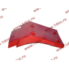 Брызговик передней оси правый H2 красный HOWO (ХОВО) WG1642230004 фото 3 Стерлитамак