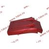Брызговик передней оси правый H3 красный HOWO (ХОВО) WG1642230104 фото 4 Стерлитамак