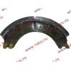 Колодка тормозная задняя с накладками H2/H3 HOWO (ХОВО) WG199000340061 фото 4 Стерлитамак