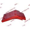 Брызговик передней оси правый H2 красный HOWO (ХОВО) WG1642230004 фото 4 Стерлитамак