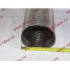 Гофра-труба выхлопная 6х4 с юбкой H2/H3 HOWO (ХОВО) WG9725540053 фото 5 Стерлитамак