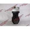 Компрессор пневмотормозов 2-х цилиндровый H2 HOWO (ХОВО) VG1560130080 фото 6 Стерлитамак